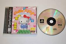 Playstation 1 HELLO KITTY CUBE FRENZY PS1 PSX Complete CIB Combine Shipping