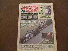 Motoring News 4 October 1995 Bathurst 1000 European GP Eddie Irvine Guy Smith