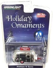 GREENLIGHT 1:64 AIRSTREAM 16' BAMBI MIJO EXCLUSIVE HOLIDAY ORNAMENT 51078