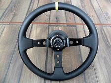 VW Golf Mk3 Corado Sport Deep Dish Leather Steering Wheel 350MM