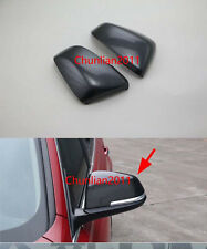 Rearview Side Mirrors Cover trim for 2016 2017 BMW X1 F48 Carbon Fiber Mirror