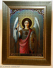 GUARDIAN ANGEL ICON FRAME + GUARDING PROTECTION BELT WITH 2 PRAY POCKET SIZE