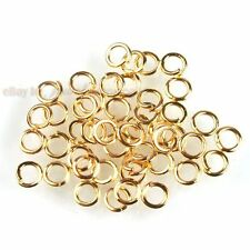 2000pcs 160650 Hot Golden Iron Open Ring Charm Jumpring Findings 5mm Free P&P