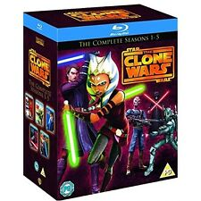 Star Wars: Clone Wars - Complete Series - Seasons 1 2 3 4 5 [Blu-ray Box Set]