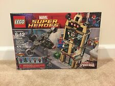 New! Lego Marvel Super Heroes Spider-Man Daily Bugle Showdown (76005)