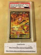 Pokemon Charizard EX XY121 Full Art PROMO RED & BLUE Collection PSA 9 Mint