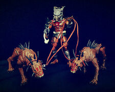NECA Custom Tribal Predator & The Hounds Of Justice Action Figure