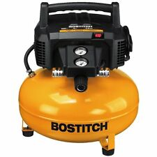 BOSTITCH Pancake Air Compressor BTFP02012   6 GALLON + 1 year bostich waranty