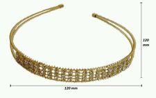 Fashion crystal rhinestone Bandeau Cheveux Pièce Bande de cheveux pour femmes fille gold