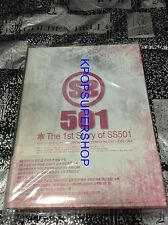 SS501 The 1st Story of SS501 3 DVD Photobook Great Condition Kim Hyun Joong