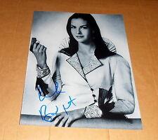 Carole Bouquet * James Bond * original signed en 20x25 cm (8x10 pulgadas)