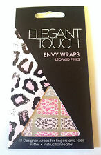 ELEGANT TOUCH ENVY WRAPS NAIL ART ~CHOOSE TYPE~