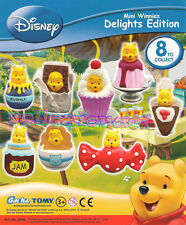 Disney Mini Winnies delights edition News Tomy 8 Pezzi