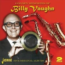 Golden Memories of. Billy Vaughn: Five Original Albums by Billy Vaughn (CD,...