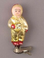 Christmas Tree Decoration Ornament Child Russian Soviet Glass Vintage Old XMAS
