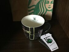 Starbucks Coffee Hong Kong 15th Anniversary 12oz Mug