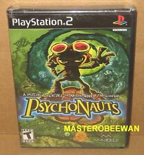 PS2 Psychonauts New Sealed (Sony PlayStation 2, 2005)