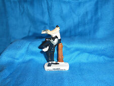 WOLFIE Wolf TEX AVERY Photo Frame Holder FRENCH Porcelain FEVES Statue Picture