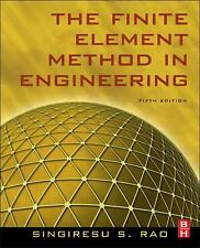 THE FINITE ELEMENT METHOD IN ENGINEERING NEW HARDCOVER BOOK