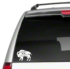 "Buffalo Aztec 6"" Car Vinyl Decal Sticker roam wild native west free spirit *E34*"