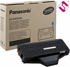 TONER ORIGINAL PANASONIC IMPRESORA KX MB1510 GENUINE 2500P CARTUCHO KX-FAT410X