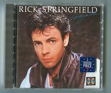 Rick Springfield cd LIVING IN OZ © 1983/89 RCA ND90309 10-track BMG BERTELSMANN