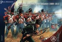 BRITISH NAPOLEONIC LINE INFANTRY - PERRY MINIATURES - 28MM - NAPOLEONICS