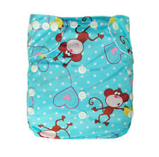 Alva healthful washable reuseable BAMBOO cloth diaper nappy +1insert NewBE20