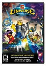 NEW SEALED Lego Universe Massively Multiplayer online Game Win/Mac DVD-Rom
