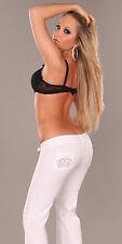 pantalon jean blanc fashion sexy femme 34