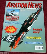 Aviation News 2002 August VC10,Westair ATP,Vulcan,Beriev Be-12