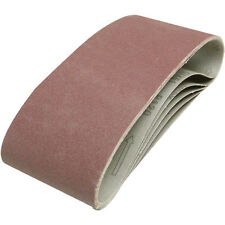 NEW Cloth Sanding Belt 100mm x 610mm 120 Grit  5 Pack  SPECIAL PRICE, ONE ONLY!