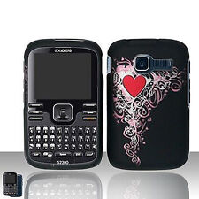 Heart Hard Case Snap on Cover Kyocera Loft/Torino S2300
