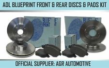 BLUEPRINT FRONT + REAR DISCS AND PADS FOR CHRYSLER USA VOYAGER 2.4 2001-07 OPT3