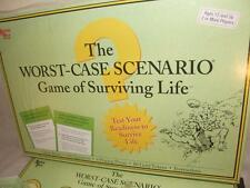 THE WORST-CASE SCENARIO BOARD GAME OF SURVIVING LIFE UNUSED EXCELLENT CONDITION