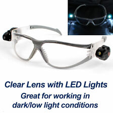 Safety Force Ultra Bright Dual LED Saftey Glasses SF-106