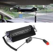 Blue 8 Led Strobe Police Emergency Flash Warning Light For Car/Truck 12V HB-803B