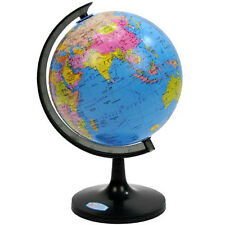 1x Earth World Globe Country Map Sphere Tellurion Rotating Swivel Geography Toy