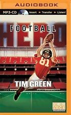Football Hero 2 by Tim Green (2015, MP3 CD, Unabridged)