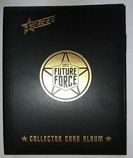 2013 Select Future Force Official Album Set of 100 cards in pages Folder