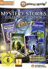 Mystery Stories-COLLECTOR 'S EDITION (PC, 2012, DVD) MERCE NUOVA