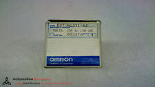 OMRON E2T-N13Y1-52 PROXIMITY SWITCHES 100-120V AC MAKE: 1.8A BREAK, NEW #149513