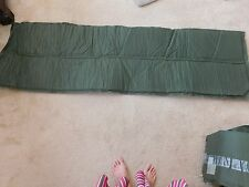 "US MILITARY SELF INFLATING GREEN VINYL SLEEPING MAT 72"" (L) X 20"" (W)"