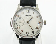 Parnis 44mm steel case hand winding Seagull st36 movement mens 6497 Watch,93