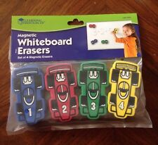Learning Resources Magnetic Whiteboard Eraser Set of 4