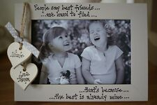Personalised Photo Frame by Filly Folly! Sisters Best Friends Aunt Birthday Gift