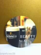 Guinness Irish Draught beer Beauty Pure Magic round beer coaster coasters 1 S2