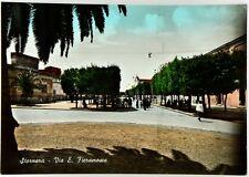 Cartolina Stornara - Via E. Fieramosca Viaggiata
