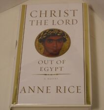 Christ the Lord: Out of Egypt by Anne Rice - Signed 1st Ed. - COA - Rare! (B20)