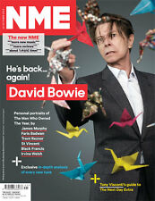 NME Magazine 12 October 2013,David Bowie NEW